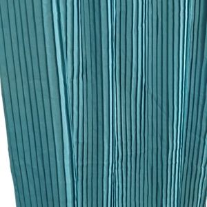 Metro Wear Skirts - Metro Wear| Maxi Skirt Teal Green Pleated Long
